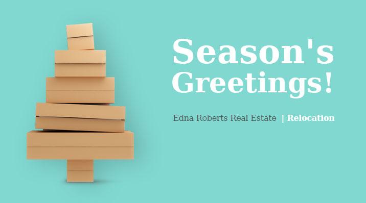 Edna Roberts Real Estate Agency In Israel |  Season's Greetings